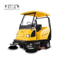 China rechargable cleaning sweeper truck rechargeable electric sweeper  industrial electric street sweeper on sale