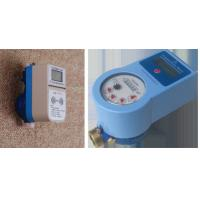 Digital Prepaid RF Water Meter Remote Control , Electronic Household Water Meter Manufactures
