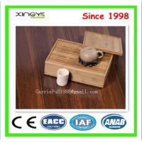 China Brown bamboo flooring stained bambu floorings cheap floor on sale