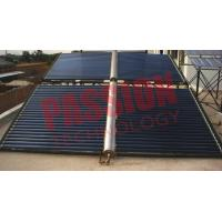 China 100 Tubes Vacuum Tube Solar Collector Open Loop Circulation Corrosion Resistance on sale