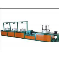 Cast Iron Metal Automatic Wire Drawing Machine For Decreasing Wire Thickness 7.5 Hp Manufactures