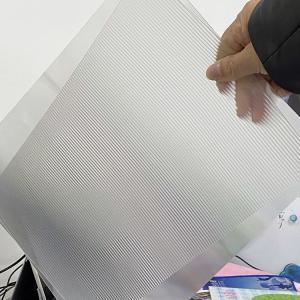 PET 200LPI/ 75/100/161 Lpi lenticular lens sheet 3D Film Lenticular Lens Sheet for injekt print and uv print Manufactures