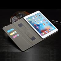 Ipad Mini 4 Magnetic Leather Case Multi Colors Crazy Horse Stand Function Manufactures