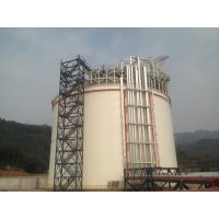06Cr19Ni10 Q345R Single Containment LNG Storage Tank Large Gas Storage Tanks Manufactures