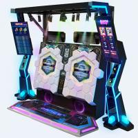 China Arcade Video Dance Cube Coin Operated Music Machine For 1-2 Players on sale