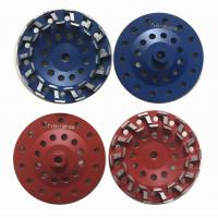 China 7 S type Concrete Cup Wheel Diamond Grinding Wheel Grit #18 - Grit #120 on sale