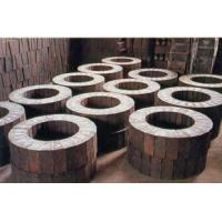Shape Special Mg Magnesia Bricks for Copper furnace , 230 x 114 x 65mm Manufactures