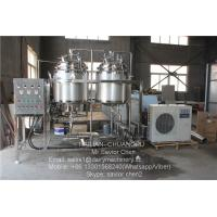 China Dairy Farm 1000L Milk Sterilizer Machine For Milk Processing Machinery on sale