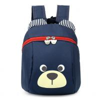 Navy Animal Pattern Personalized Kids Backpacks Durable Backpacks For School Manufactures