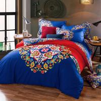 Cotton Hotel Collection 6 Piece Bedding Comforter Sets Embroidered Flower Queen Size Manufactures