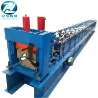 15 Rows Ridge Cap Roll Forming Machine Cold Roll Forming Equipment Manufactures