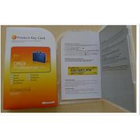 Microsoft Office 2010 Product Key Card , Office Professinal 2010 Product Key Card Manufactures