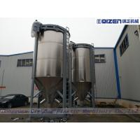 15 Tons Chicken Feed Mixer Machine , Feed Mill Mixer With Stainless Steel Paddles
