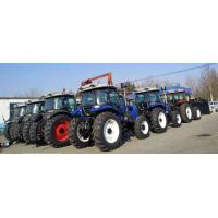 4wd 4*4 used farm tractors with loaders flat tyre  steering hydraulic tractor with front end loader tractor for sale