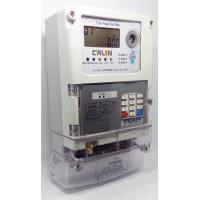 STS Commercial 3 Phase Electric Meter , Prepayment Electricity Meters Manufactures