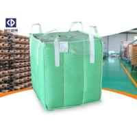 Polypropylene FIBC Bulk Bags / Baffle Bag With Inner Bag Color Customized Manufactures