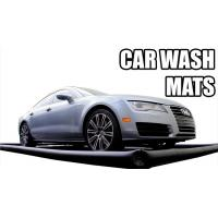 China Blue Inflatable Car Wash Mat With Water Reclamattion Systems on sale