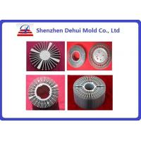 Customized Heat Sink Aluminum Extrusion Profiles For LED Anodize Surface Treatment Manufactures