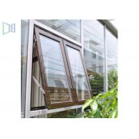 High Performance Aluminum Awning Window / Top Hung Roof Window Manufactures