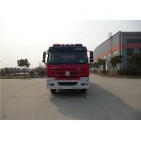 380HP Engine Power Motorized Fire Truck With Water Pump Transmission System Manufactures