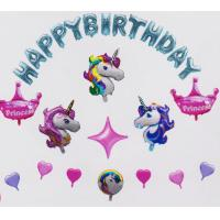 China Durable Inflatable Large Mylar Letter Balloons 12 Inch / 18 Inch Animal Shape on sale