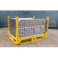 Industrial Warehouse Collapsible Wire Container Large Load Capacity for sale