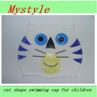 baby swim cap lovely swim cap foe many cartoon patterns Manufactures