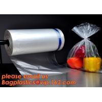 100%Biodegradable fruit fresh food Packaging Bags On Roll,Fresh Vegetables Food Fruit Storage Produce Bag on Roll bageas Manufactures