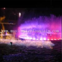 Custom Outdoor Water Fountain Stainless Steel Fire Water Fountain Features Manufactures