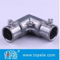"1/2"" to 2"" EMT Conduit And Fittings Zinc Set Screw EMT Inside Corner Pull Ebows Manufactures"
