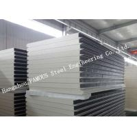 Heat and Sound Insulation PU Sandwich Panels Prefabricated Building Wall Panel Manufactures