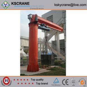 China High Quality Pillar Motorized Jib Cranes 5ton on sale