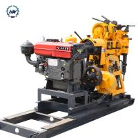 China 380V Water Well Drilling Rig With Diesel Engine  ,  Drlling Depth 230m on sale