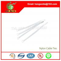 Buy cheap High quality nylon material Self-Locking plastic nylon cable tie Guyana from wholesalers