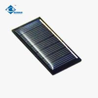 China ZW-5525 mini poly solar panels for solar phone charger 3.5V Epoxy Resin Solar Panel on sale