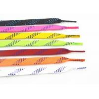 High Tenacity Waxed Ice Skate Laces Custom Package Polyester Cotton Material Manufactures