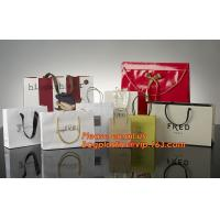 High Quality And Fancy Customized Black Printed Luxury Gift Paper Shopping Bag Manufactures