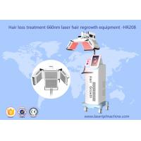 Quality 660nm Diode Hair Growth Machine Laser Therapy Machine HR208 1 Year Warranty for sale