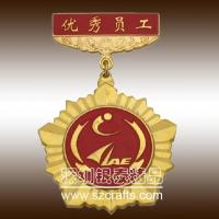 Custom medallion soft brass metal medal for cheap--shenzhen professional factory Manufactures