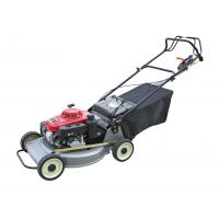 Red Small Push Lawn Mowers / Rotary Lawn Mower Chinese Gasoline Engine Manufactures