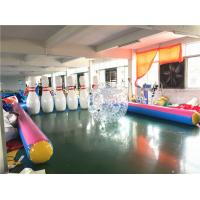Outdoor Human Inflatable Bowling Ball for Zorb Balls Ramp SCT EN71 Manufactures