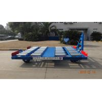 Safety Container Pallet Dolly Hot Dipped Galvanized With Swivel Wheel Manufactures