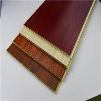 Bamboo Integrated WPC Wall Panel , Polyvinyl Chloride Mix Wood Powder Board Manufactures