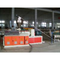 High Efficiency Plastic Pipe Extrusion Machine / PVC Pipe Production Line Manufactures