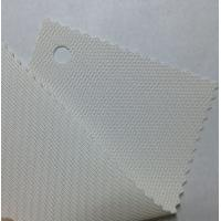 White color 30% polyester 70% PVC roller blind sunscreen curatin fabric Manufactures