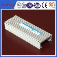 6063 hot sale industrial heat sink aluminium extrusion profiles Manufactures