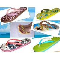 Lady′s′ Flip-Flops, Rubber Sole, Rubber Strap, Harmless Material, RoHS Directive Manufactures