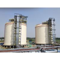 China Natural Gas Storage Tank 10000m3 Single Containment LNG Tank ISO9001 CE on sale