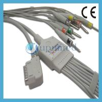 Kenz PC-109 10 Lead EKG Cable with leadwires;EKG Cable with leadwires Manufactures