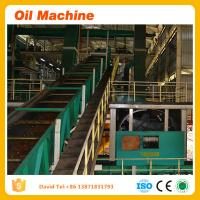 New high termperature steam sterilizer Qualified complete edible palm oil refining plant